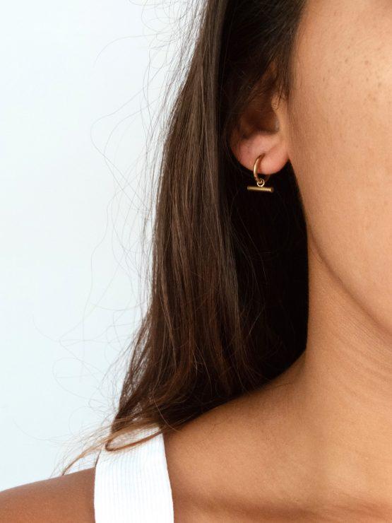 Line it up earrings